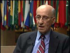 لقاء خاص مع الدكتور سنان الشبيبي لى هامش اجتماعات ربيع 2010 للبنك وصندوق النقد الدوليين