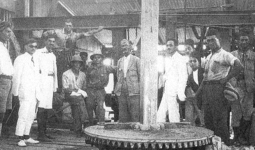 First Oil dril in Kirkuk 1927