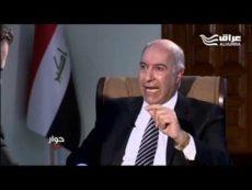 وزير الموارد المائية الدكتور حسن الجنابي يضع النقاط على الحروف في ازمة البصرة