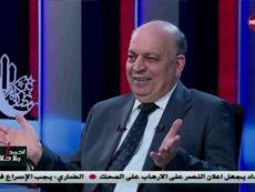 وزير النفط العراق ثامر الغضبان يتحدث في برنامج بالحرف الواحد