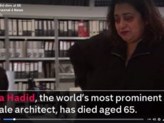 Zaha Hadid is the most prominent femal archtict in the World