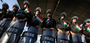 Kurdish policmen image
