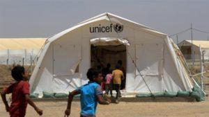 Displaced Iraqi boys