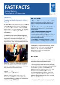 UNDP IQ- Fast Facts- cover