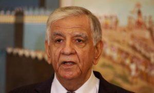 Oil Minister Jabbar Laieby image