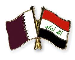 iraq katar flag
