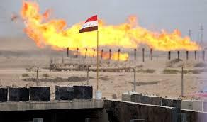 Oil-field-with-Iraqi-flag