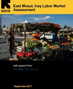 Book cover labor market Mosul