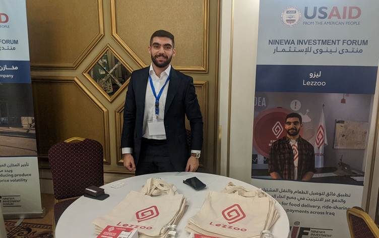 Lezzoo CEO Yadgar Merani talks tech start-ups, job creation and Iraq's economic potential at the Ninewa Investment Forum