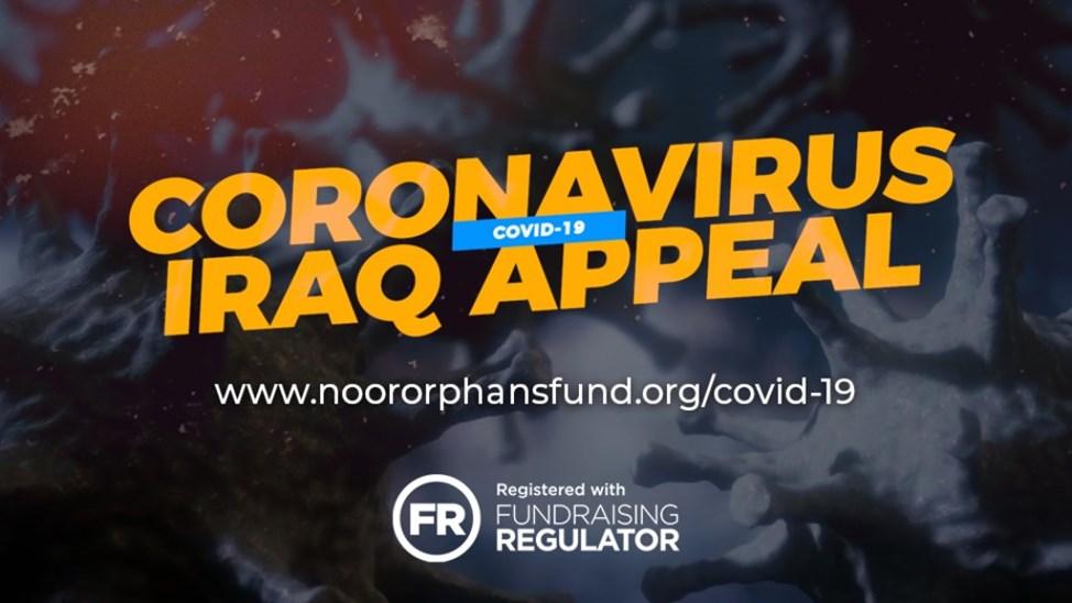 Noor Trust : Coronavirus Iraq Appeal – Hygiene Packs
