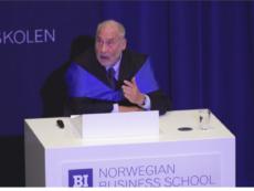 Professor Joeseph E. Stegiltz talks about how did Chian succeed