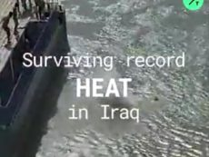 IRAQ'S HOTTEST SUMMER EVER: Temperatures in Baghdad last week topped out at 52°C (126 °F).