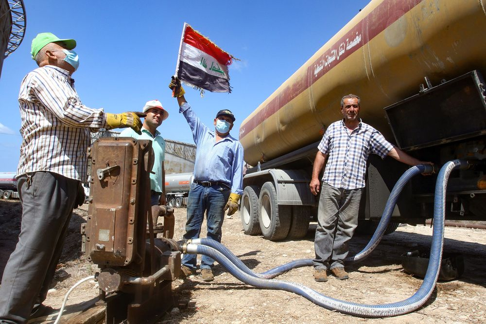 Total Considers Investing in Iraqi Natural-Gas Projects