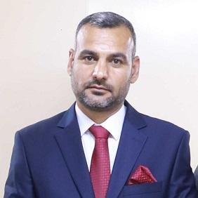 Senior Health Sector Experts Qais Al-Eqabe