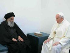 Pope Francis meets Grand Ayatollah Sistani on historic Iraq tour