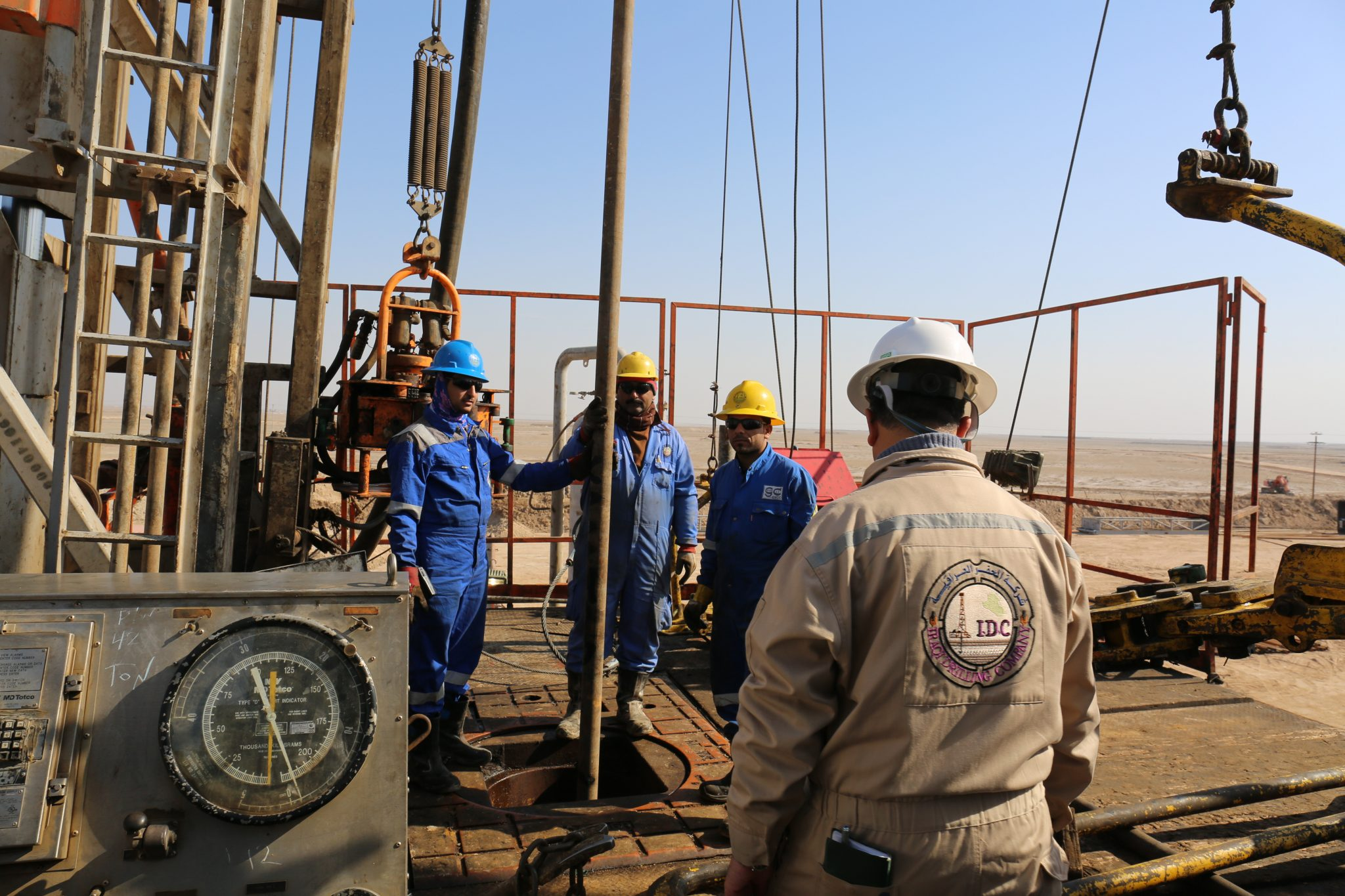 Investment contracts for drilling new wells