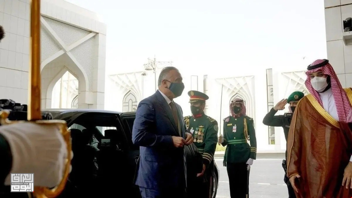 Iraqi PM seeks to boost ties on his first visit to Saudi Arabia