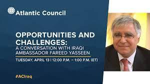 Iraqi Ambassador Hopes for Greater Economic Cooperation